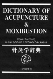 Dictionary of Acupuncture & Moxibustion